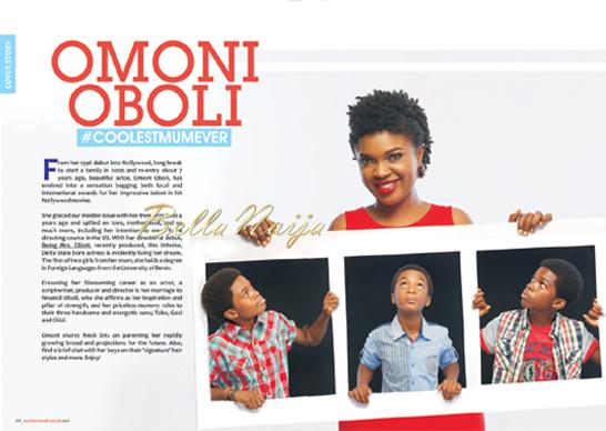 Omoni Oboli for Motherhood In Style Magazine | 1.2