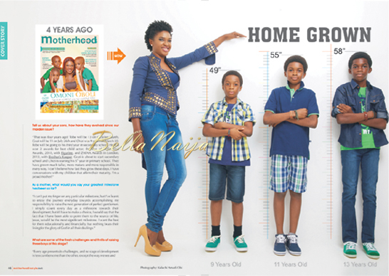 Omoni Oboli for Motherhood In Style Magazine | 1.3
