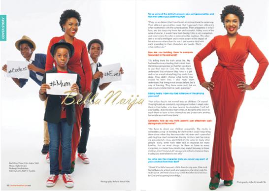 Omoni Oboli for Motherhood In Style Magazine | 1.4