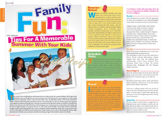 Omoni Oboli for Motherhood In Style Magazine | 1.5
