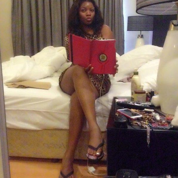 Omotola Jalade-Ekeinde & Fam in South Africa - August 2014 - BellaNaija.com 01
