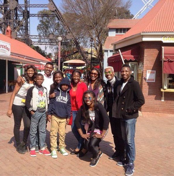 Omotola Jalade-Ekeinde & Fam in South Africa - August 2014 - BellaNaija.com 06