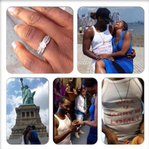Osas Ighodaro & Gbenro Ajibade - August 2014 - BN Relationships - BellaNaija.com 01