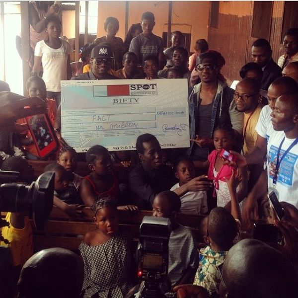 P-Square & Davido - Good Deeds - August 2014 - BellaNija (2)