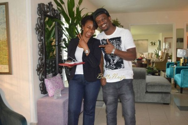 Paul & Anita Okoye at DO II Designs - August 2014 - BellaNaija.com 01