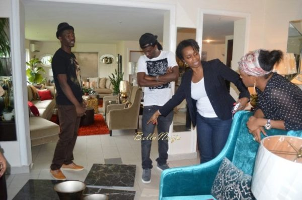 Paul & Anita Okoye at DO II Designs - August 2014 - BellaNaija.com 03