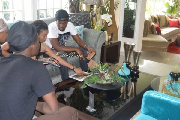Paul & Anita Okoye at DO II Designs - August 2014 - BellaNaija.com 05