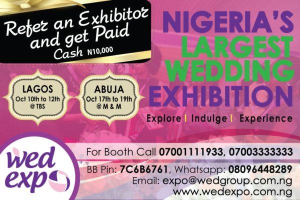Refer & Exhibitor & Get Paid - BN Bargains - August 2014 - BellaNaija.com 01