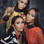 Rihanna, Iman and Naomi Campbell in Balmain for W Magazine - BellaNaija - August2014003