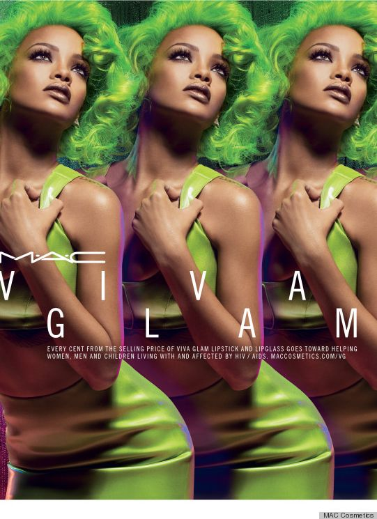 Rihanna for MAC Viva Glam - Bellanaija - August 2014001