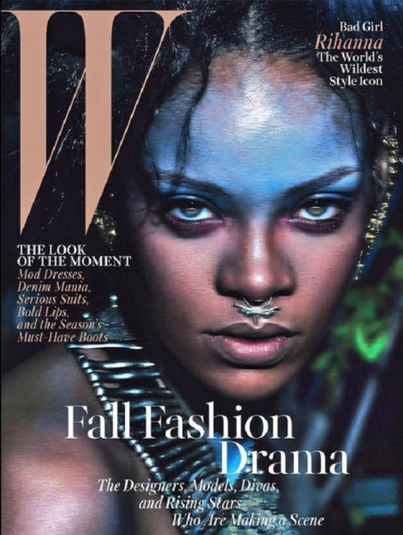 Rihanna for W Magazine - Bellanaija - August2014001