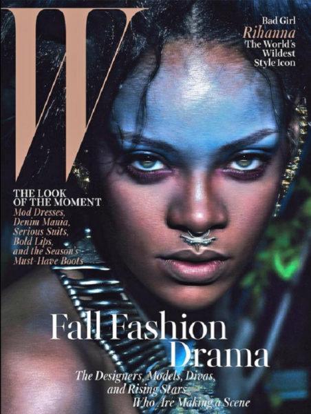Rihanna for W Magazine - Bellanaija - August2014001