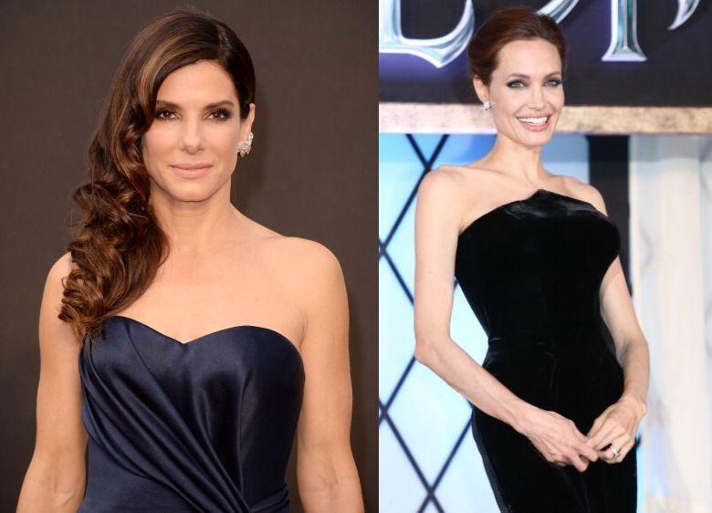 Sandra Bullock, Jennifer Lawrence, Angelina Jolie Top Forbes