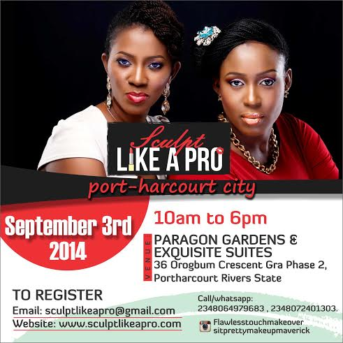 Sculpt Like A Pro Port Harcourt - Bellanaija - August 2014
