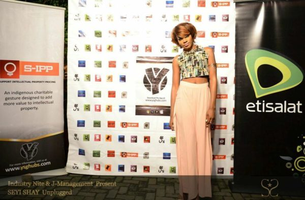 Seyi Shay Headlines Industry Nite - August 2014 - BellaNaija.com 01011