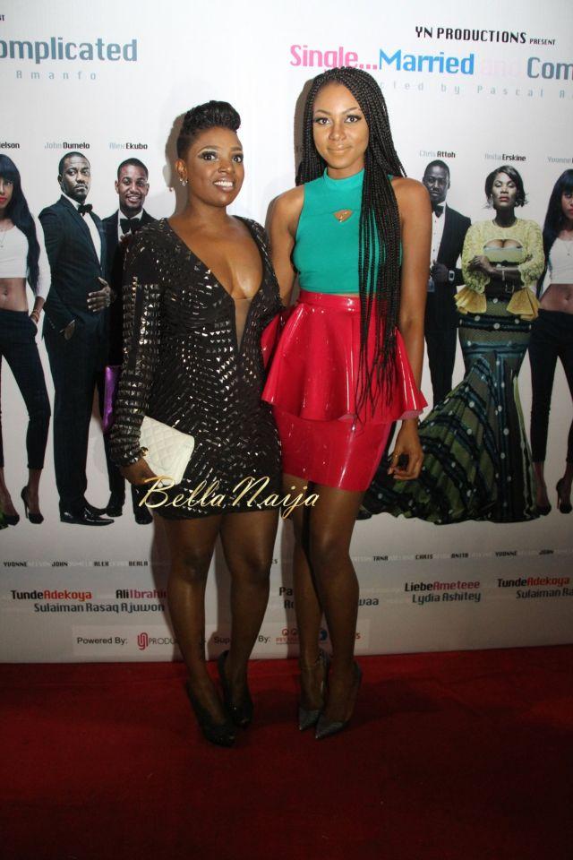 Annie Idibia & Yvonne Nelson