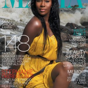 Stephanie Linus - Mania Magazine - August 2014 - BellaNaija.com 01
