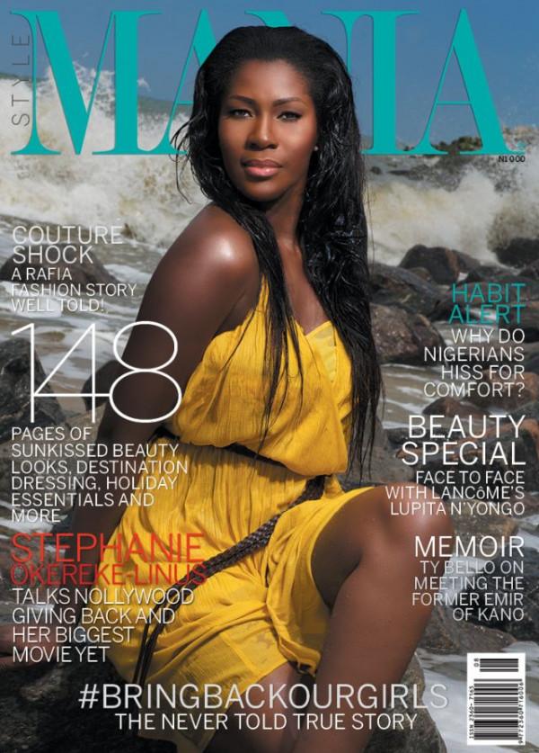 Stephanie Linus - Mania Magazine - August 2014 - BellaNaija.com 01