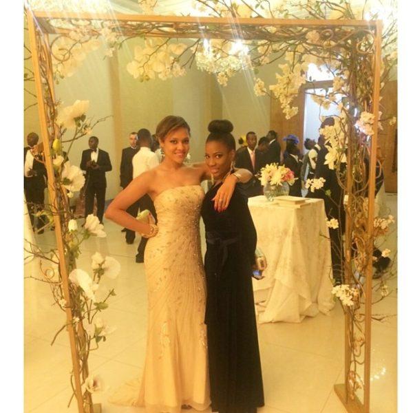Tania Omotayo & Femi