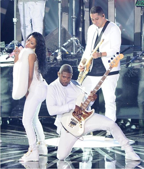 Usher and Nicki - BN Music -BellaNaija.com 01