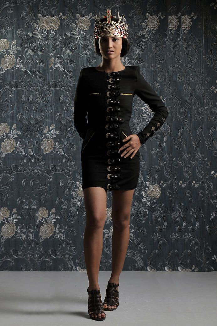 Weiz Dhurm Franklyn Bridget Bishop is King Lookbook - BellaNaija - August2014008