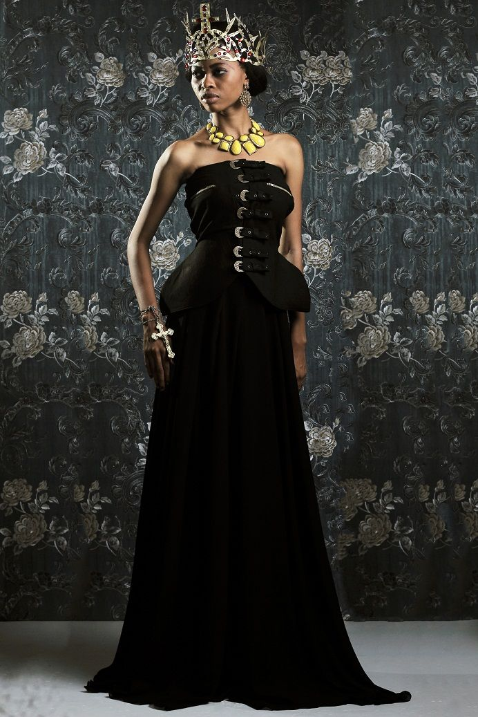Weiz Dhurm Franklyn Bridget Bishop is King Lookbook - BellaNaija - August2014009
