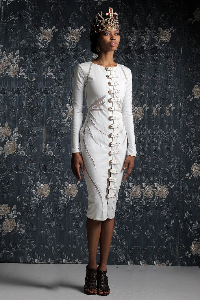 Weiz Dhurm Franklyn Bridget Bishop is King Lookbook - BellaNaija - August2014038