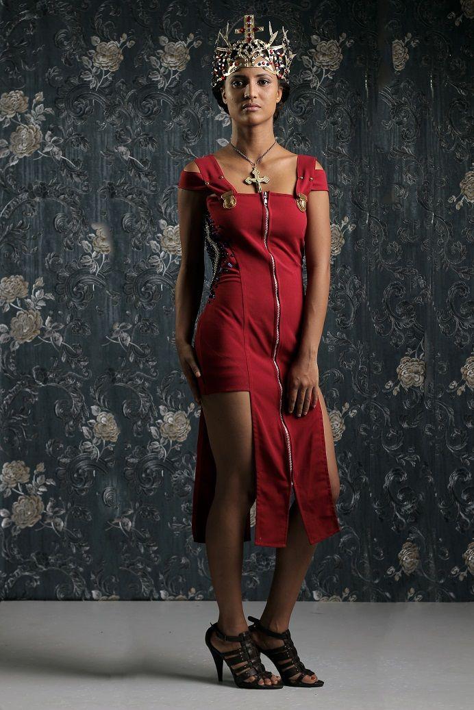 Weiz Dhurm Franklyn Bridget Bishop is King Lookbook - BellaNaija - August2014039