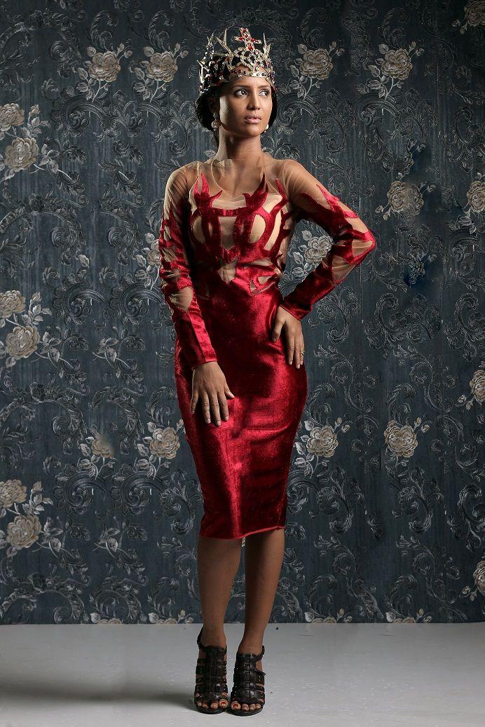 Weiz Dhurm Franklyn Bridget Bishop is King Lookbook - BellaNaija - August2014043