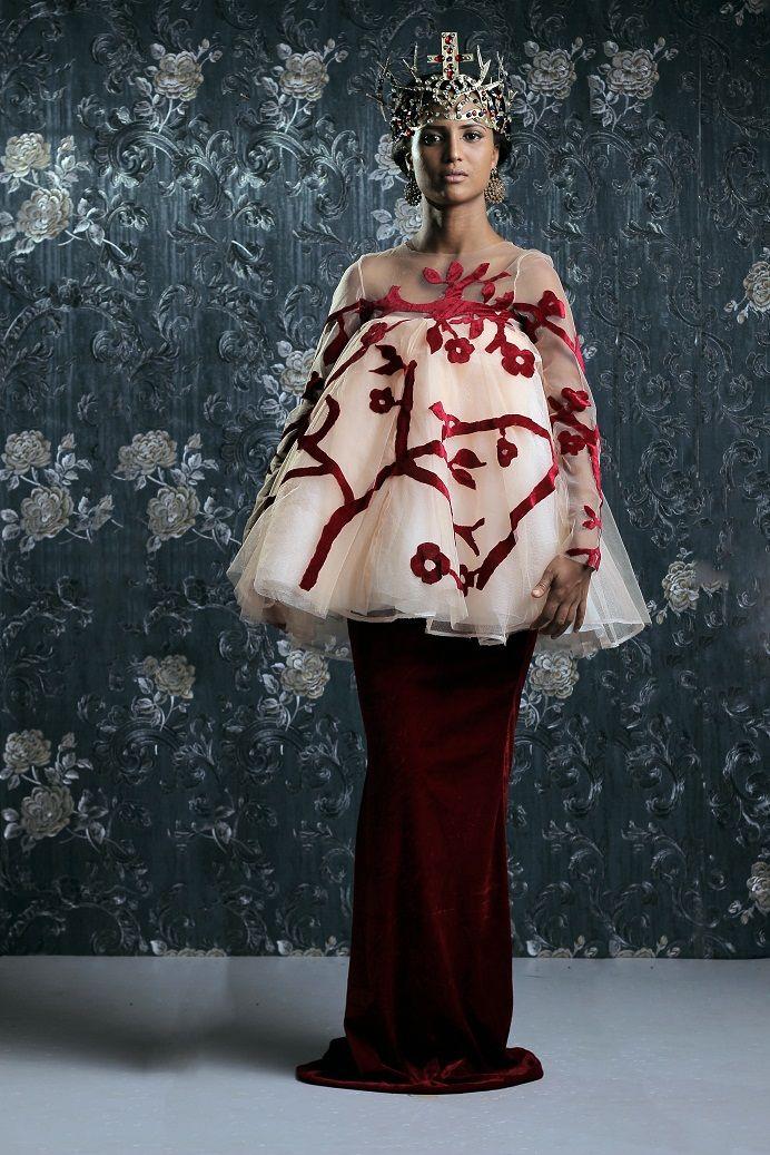 Weiz Dhurm Franklyn Bridget Bishop is King Lookbook - BellaNaija - August2014050