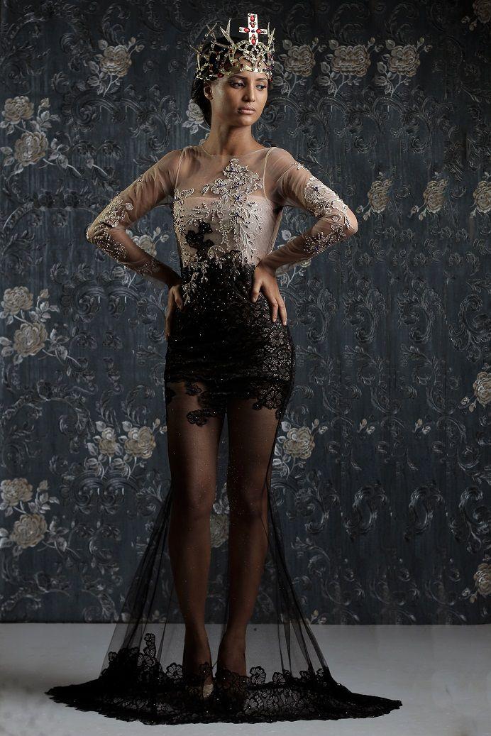 Weiz Dhurm Franklyn Bridget Bishop is King Lookbook - BellaNaija - August2014056