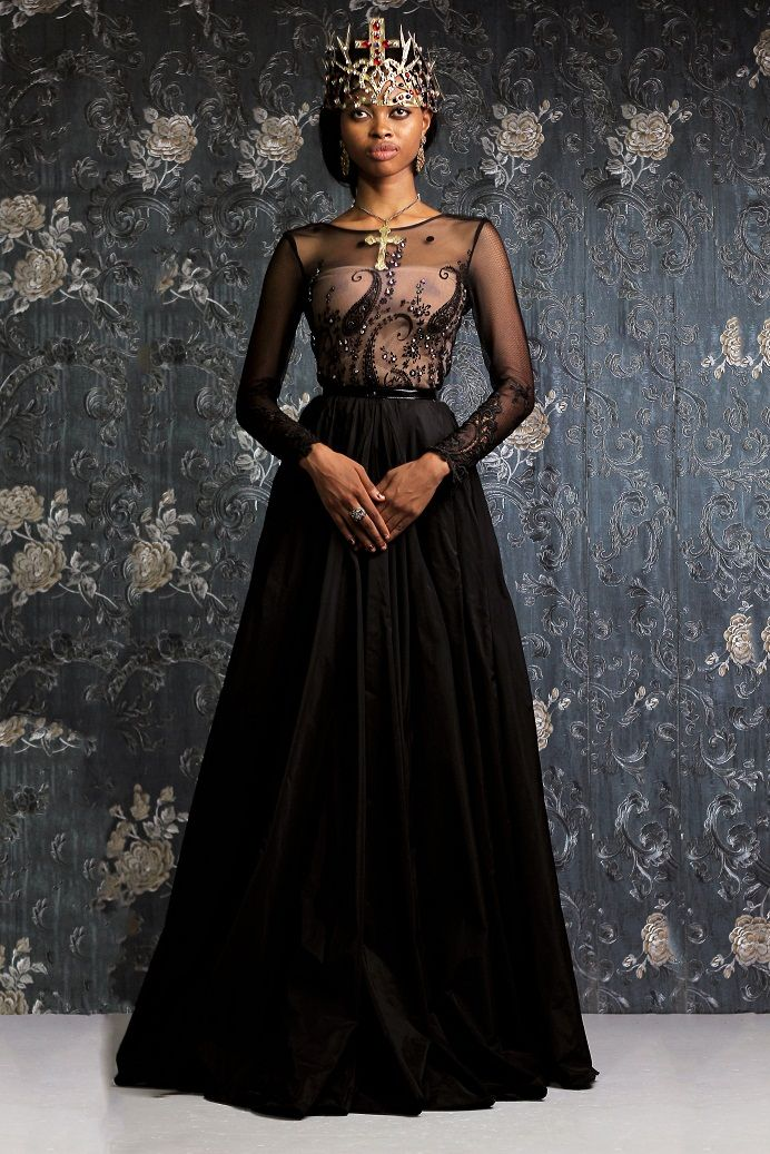Weiz Dhurm Franklyn Bridget Bishop is King Lookbook - BellaNaija - August2014060