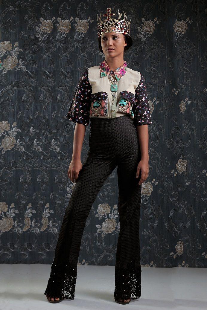 Weiz Dhurm Franklyn Bridget Bishop is King Lookbook - BellaNaija - August2014063