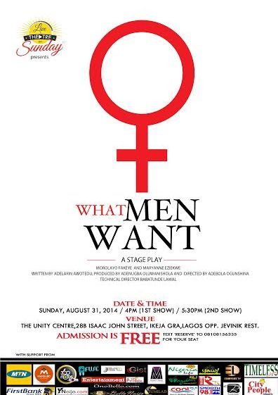 What Men Want - August 2014 - Events This Weekend - BellaNaija.com 01