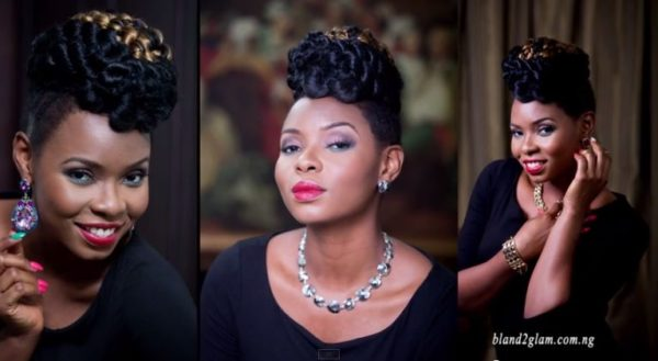 Yemi Alade Face of Bland2Glam - Bellanaija - August2014004