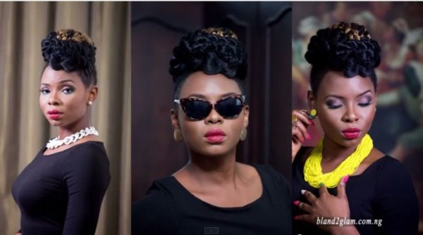 Yemi Alade Face of Bland2Glam - Bellanaija - August2014005