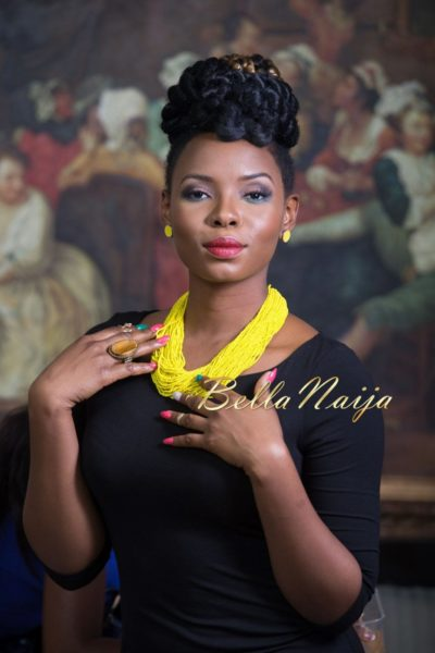 Yemi Alade Face of Bland2Glam - Bellanaija - August2014_001
