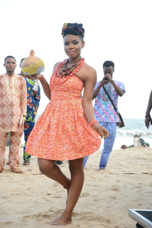 Yemi Alade's Video Shoot - August 2014 - BellaNaija.com 01001