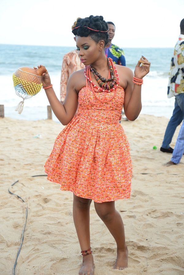 Yemi Alade's Video Shoot - August 2014 - BellaNaija.com 01002