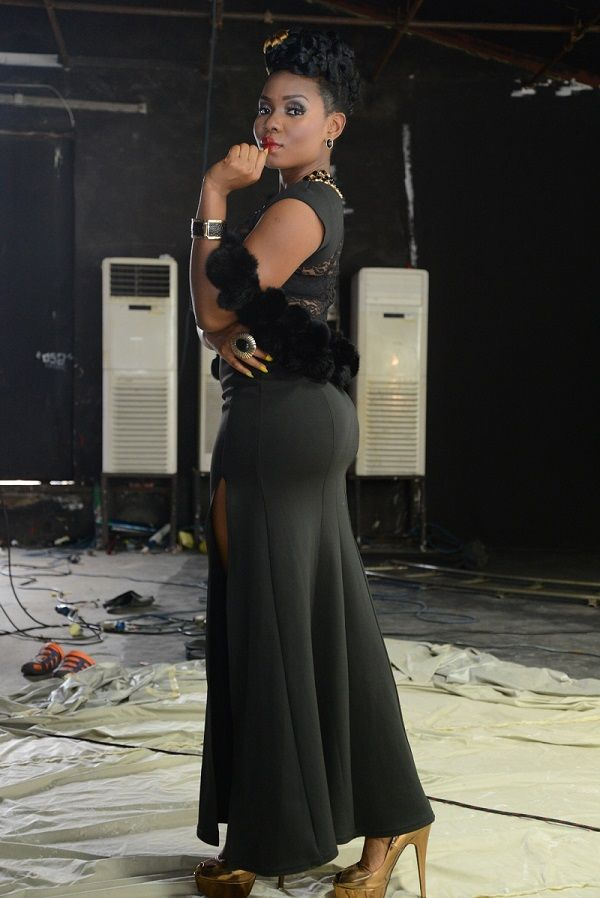 Yemi Alade's Video Shoot - August 2014 - BellaNaija.com 01019