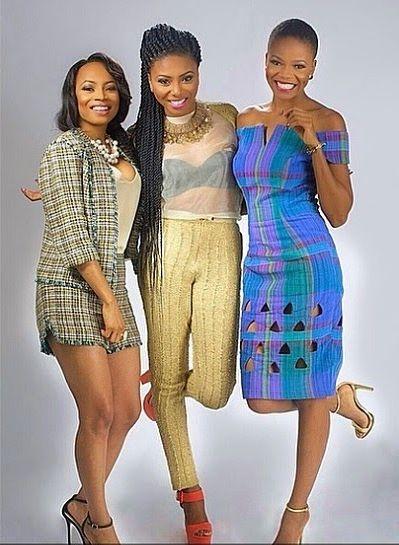 Zainab Balogun, Stephanie Coker & Toke Makinwa on This Day Style - Bellanaija - August2014005