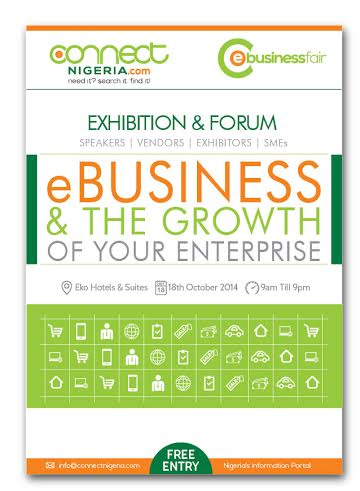 e Connect Nigeria eBusiness fair - Bellanaija - August 2014