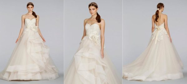 lazaro-bridal-tulle-ball-gown-beaded-lace-metallic-ribbon-belt-peplum-tiered-chapel-3413_x1