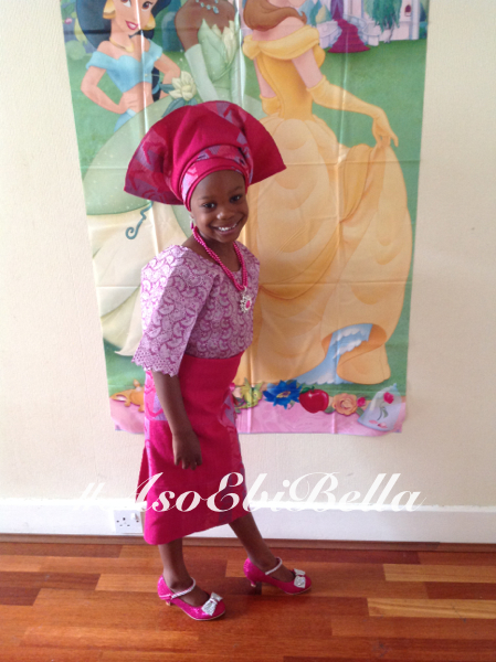 sarah's daughter.aso ebi bella, asoebi,