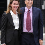Bill Gates Visits Downing Street