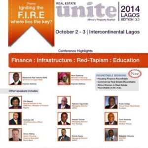3Invest Real Estate Unite 2014 - Bellanaija - September 2014