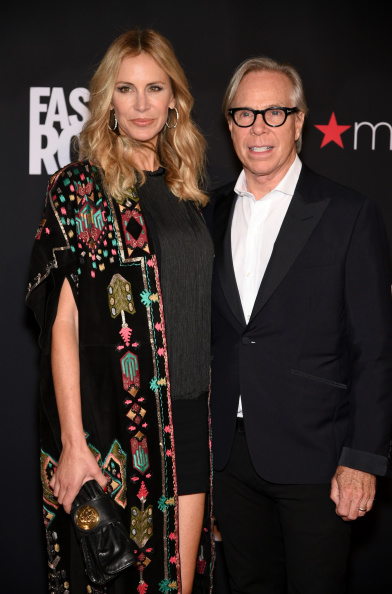 Tommy Hilfiger (R) and Dee Ocleppo