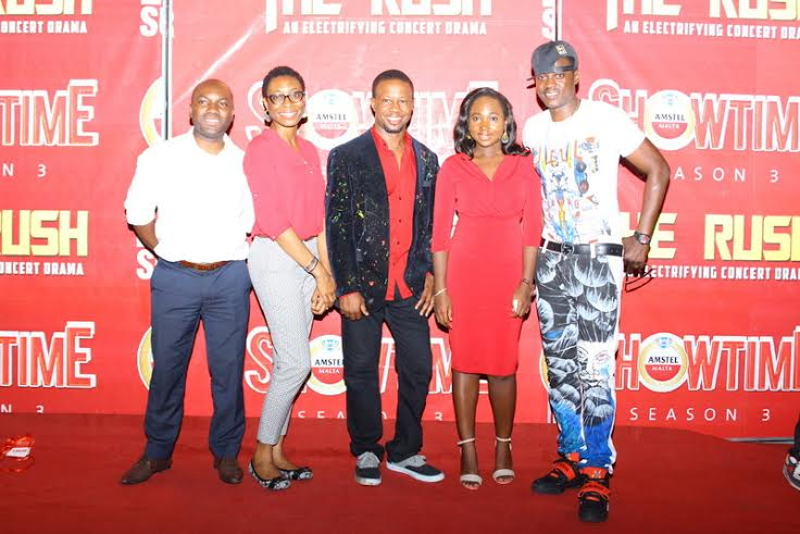 Marketing Director, Non-Alcoholic Drinks Nigerian Breweries, Sampson Oloche_ Art Director, Ice Nweke, Brand Manager Amstel Malta, Hannatu Ageni-Yusuf_ Ass. Brand Manager Phoebe Larry-Izamoje and Mentor and Jud