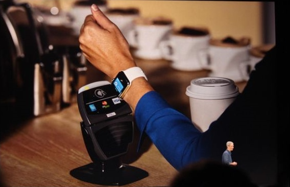 Apple Watch for payment