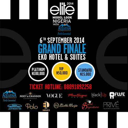 Aquafina Elite Model Look 2014 - Bellanaija - September 2014